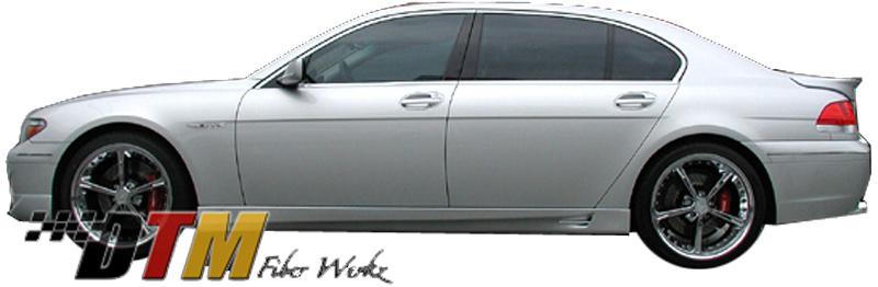 DTM Fiber Werkz BMW E66 7-Series ACS Style Side Skirts View 1