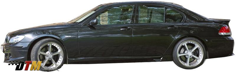 DTM Fiber Werkz BMW E66 7-Series ACS Style Side Skirts View 3