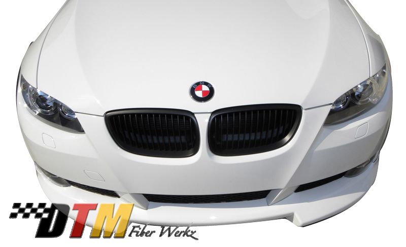 DTM Fiber Werkz BMW E92 RG Style Front Lip Mounted 4