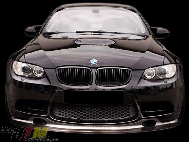 DTM Fiber Werkz GT4 Race Front Lip for 2007-12 BMW M3 [E90/E92] (FRP/CFRP)
