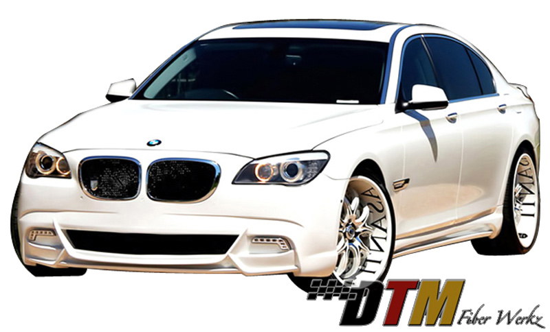 DTM Fiber Werkz BMW F01 F02 VIP Style Full Body Kit View 1