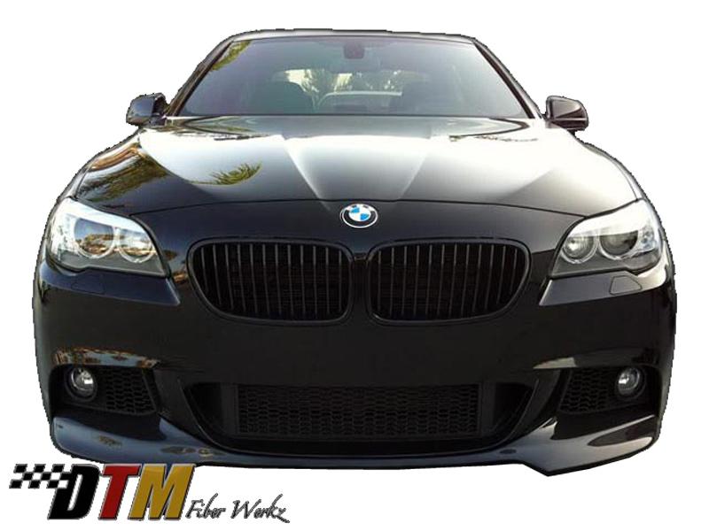 BMW F10 2011+ W/Mtech Front Bumper DTM Style Front Lip View 2