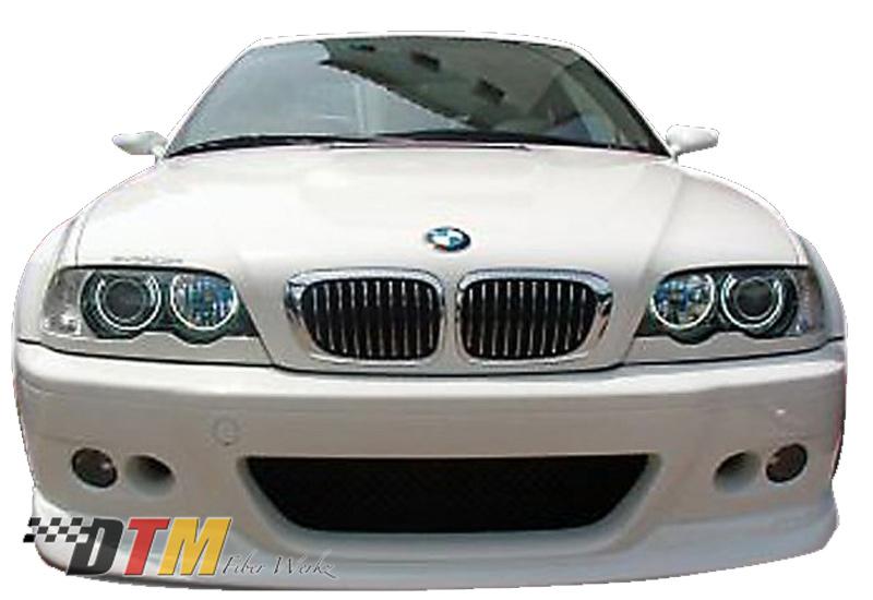 DTM Fiber Werkz BMW E46 M3 ACS Front Lip View 1