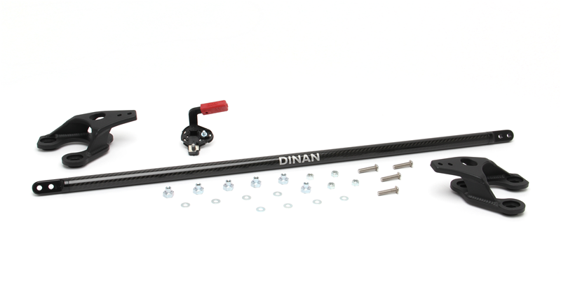 Dinan Front Carbon Fiber Strut Tower Brace for BMW 1-Series 3-Series
