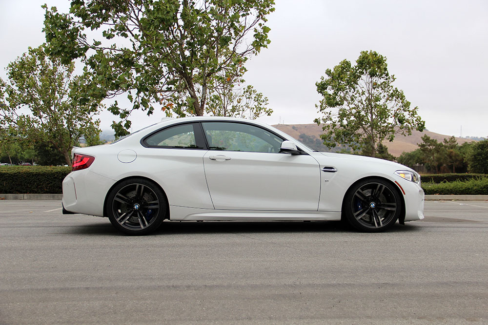 Dinan Coilover Suspension System Installed on BMW M2 F87