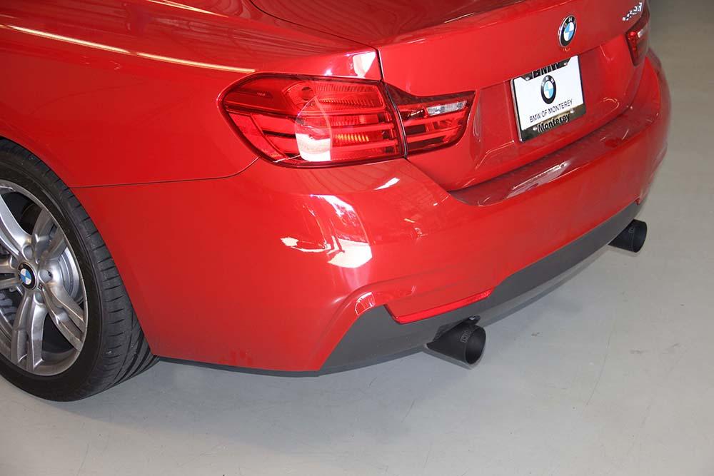 Dinan Free Flow Exhaust w/ Black Ceramic Tips Installed BMW 435i