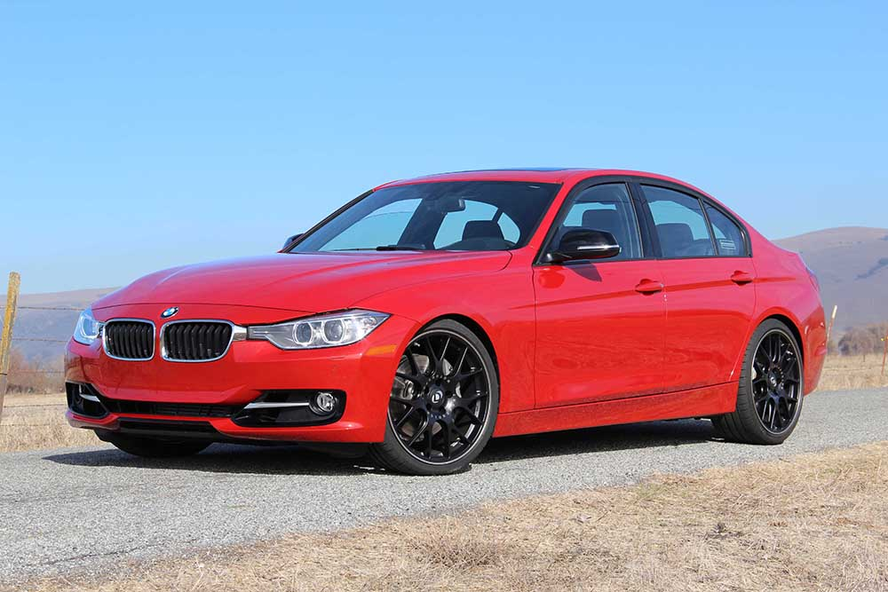 Dinan Performance Springs Installed on BMW 335i F30