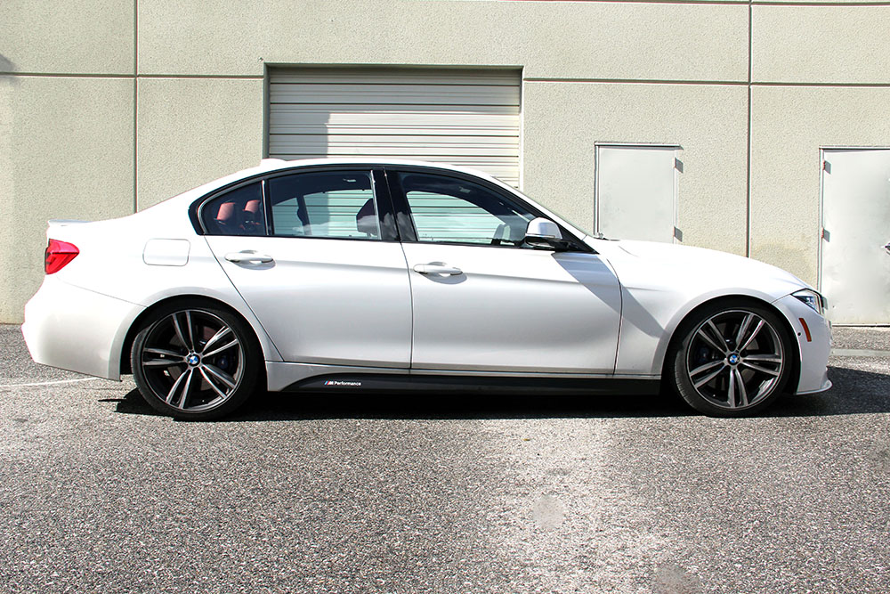 Dinan Performance Springs Installed on BMW 340i F30