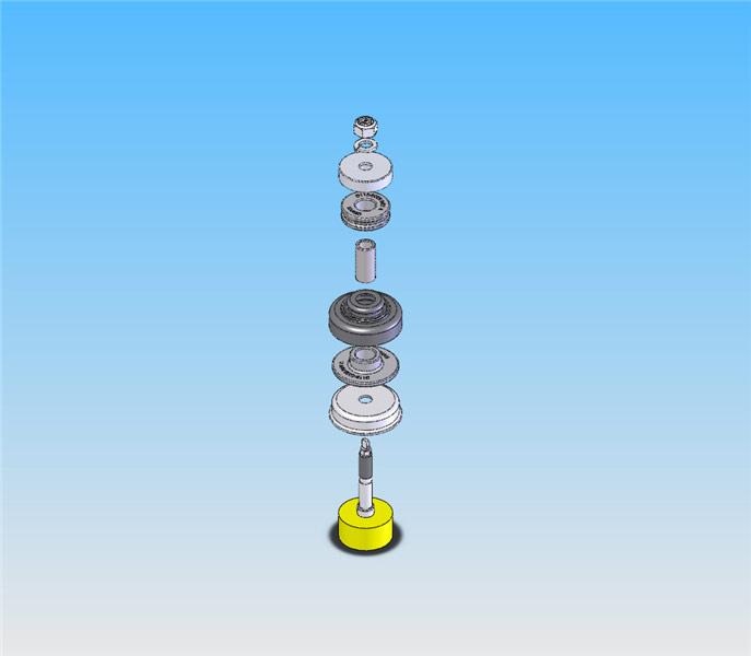 rear upper shock mount kit