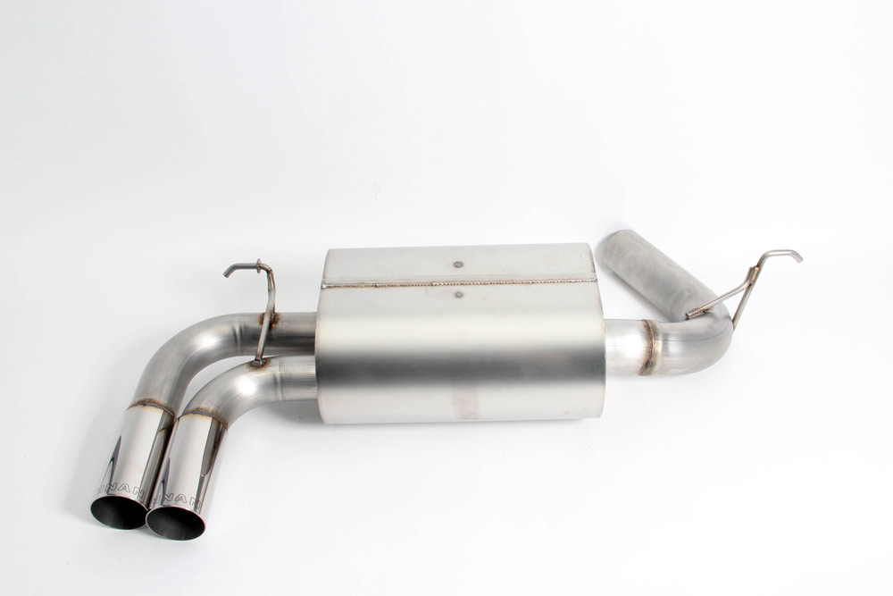 Dinan Free Flow Exhaust w/ Polished Tips