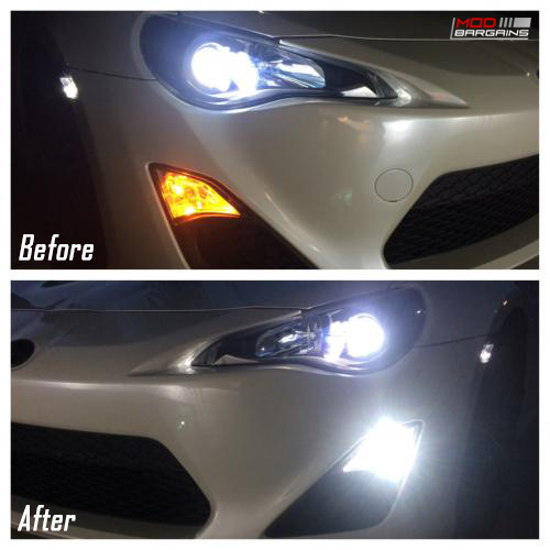 Diode Dynamic 7443 Switchback LEDs Before & After