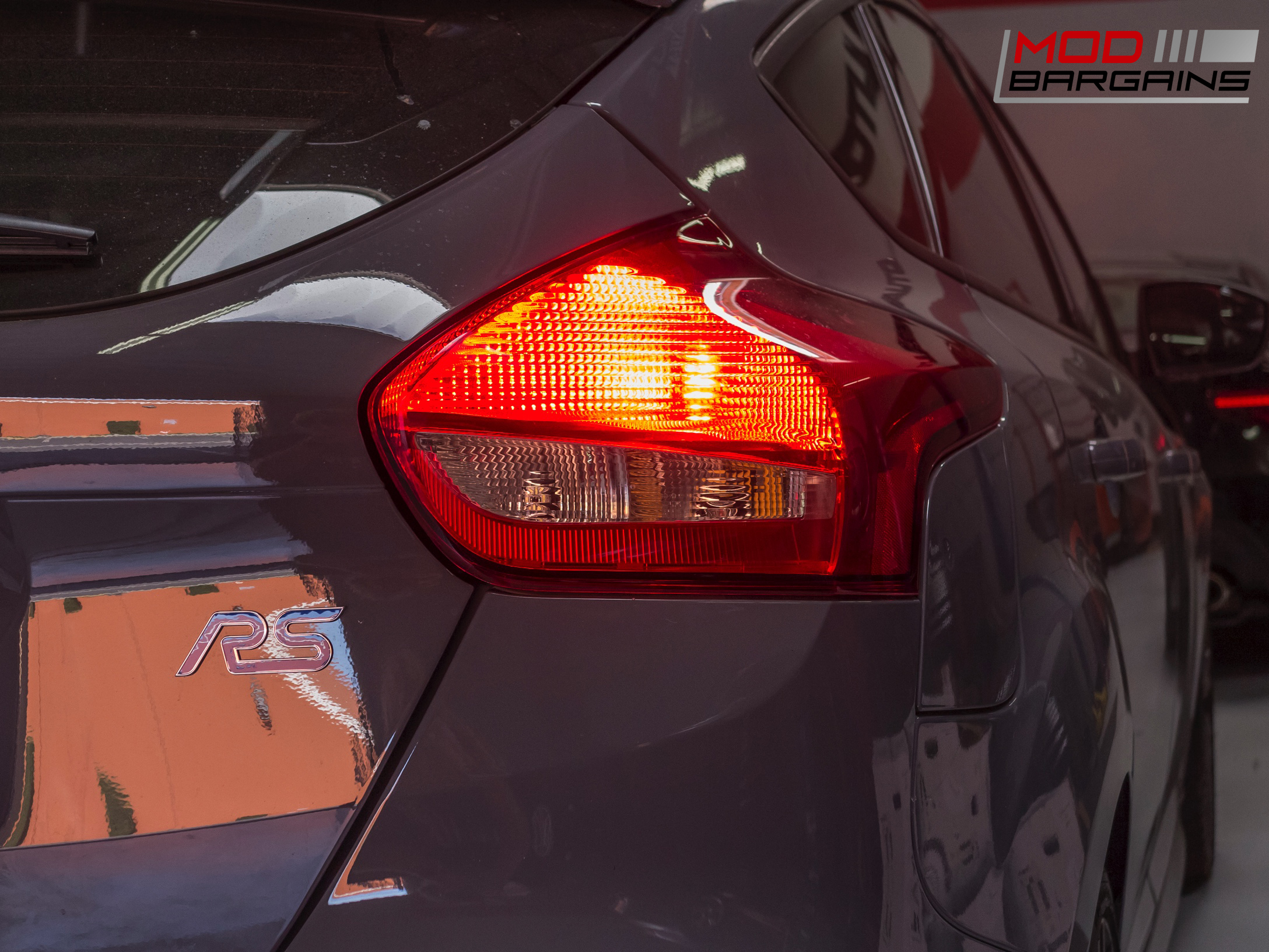 Diode Dynamics Tail Light LEDs Installed on 2016 Ford Focus RS