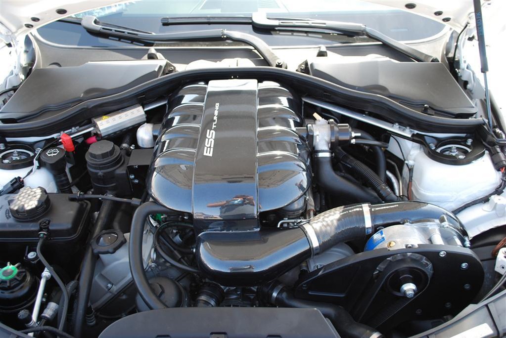 ESS Tuning VT2-595 Intercooled Supercharger System Installed (2)