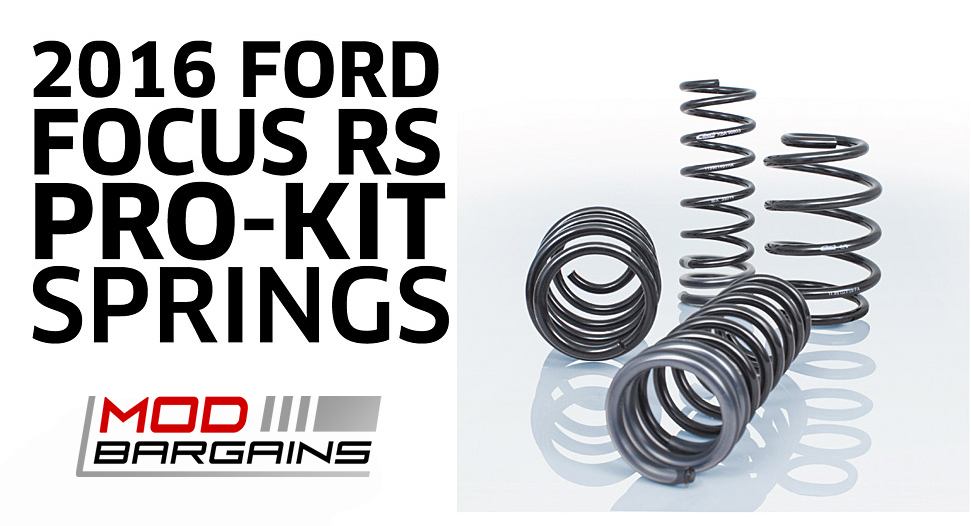 Eibach Pro-Kit Springs for 2016 Ford Focus RS