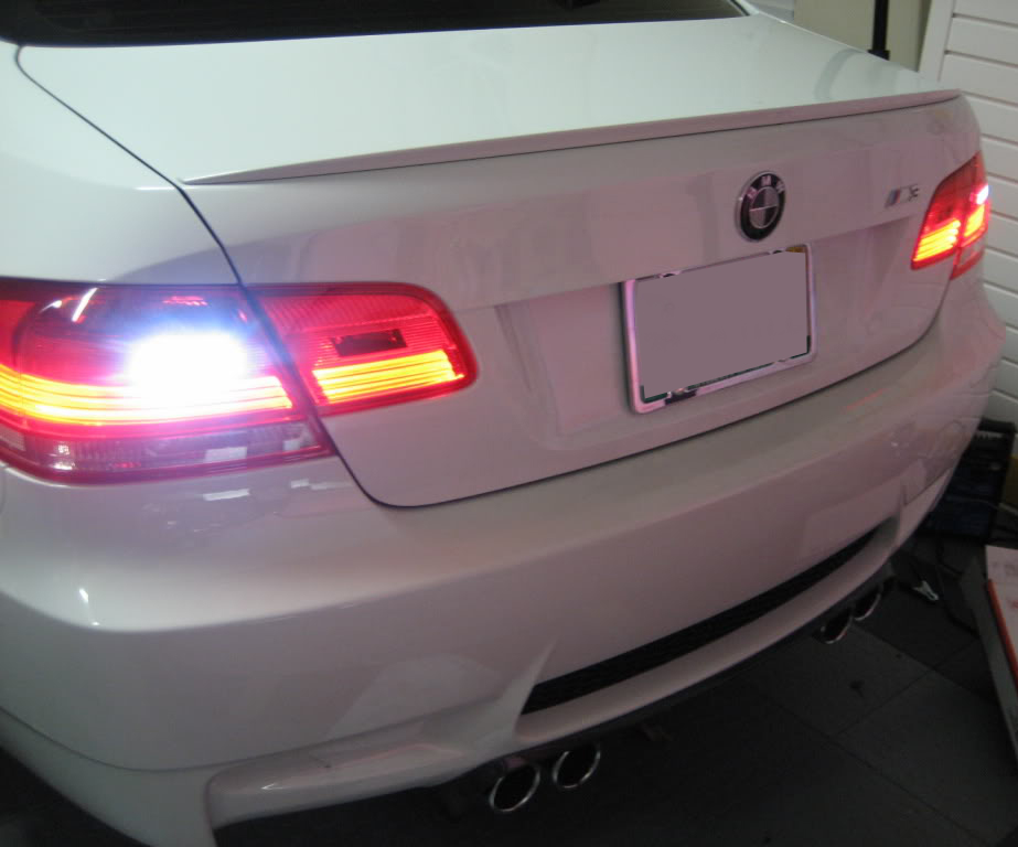 CREE LED Reverse Lights for 2011-14 BMW E92 LCI 1