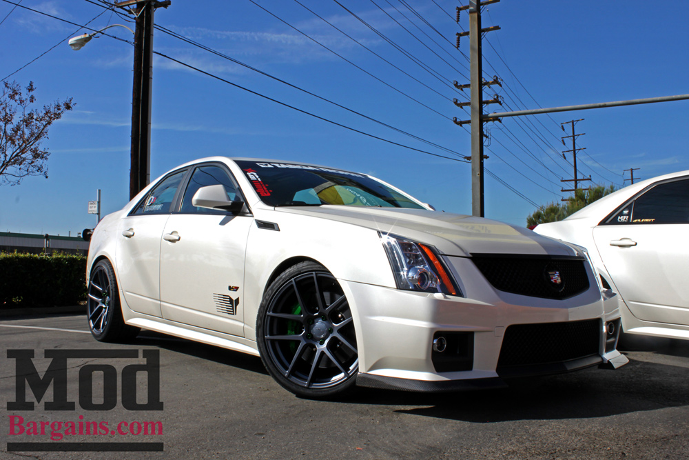 Eibach Pro-Kit Lowering Springs for Cadillac CTS-V Installed 1