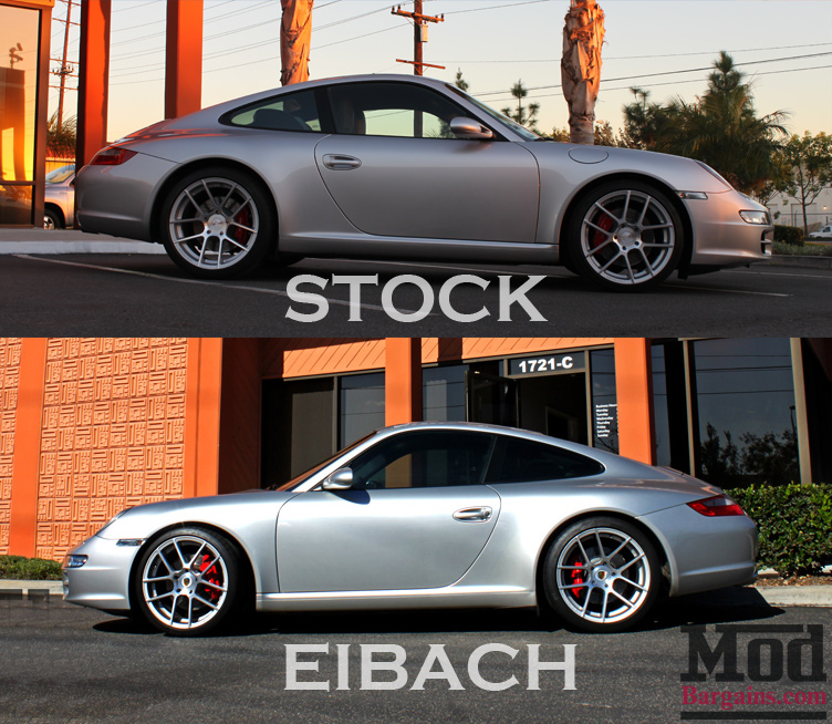 Eibach Pro-Kit Springs for 1998-2010 Porsche 911 & Carrera [996/997]