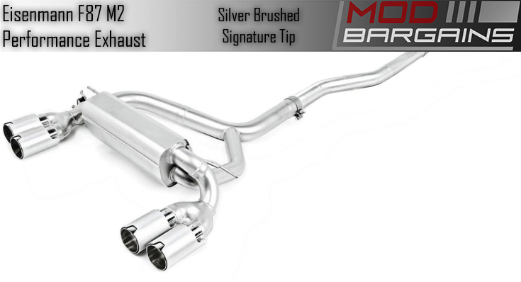 Eisenmann Exhaust for F87 M2