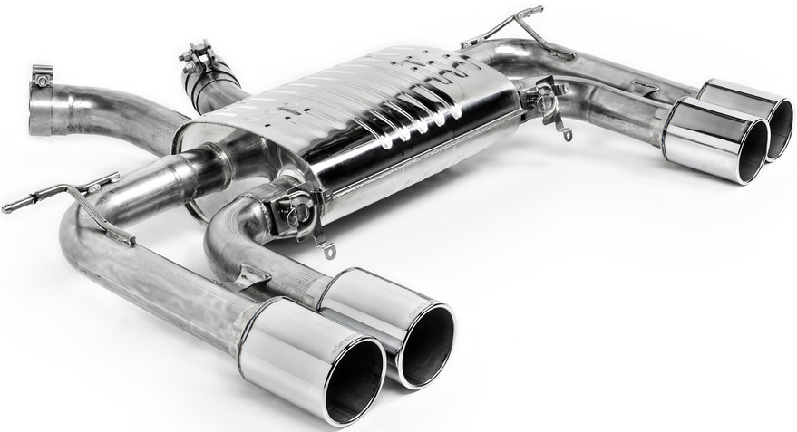 Eisenmann Sport Exhaust w/ 102mm Steel Tips