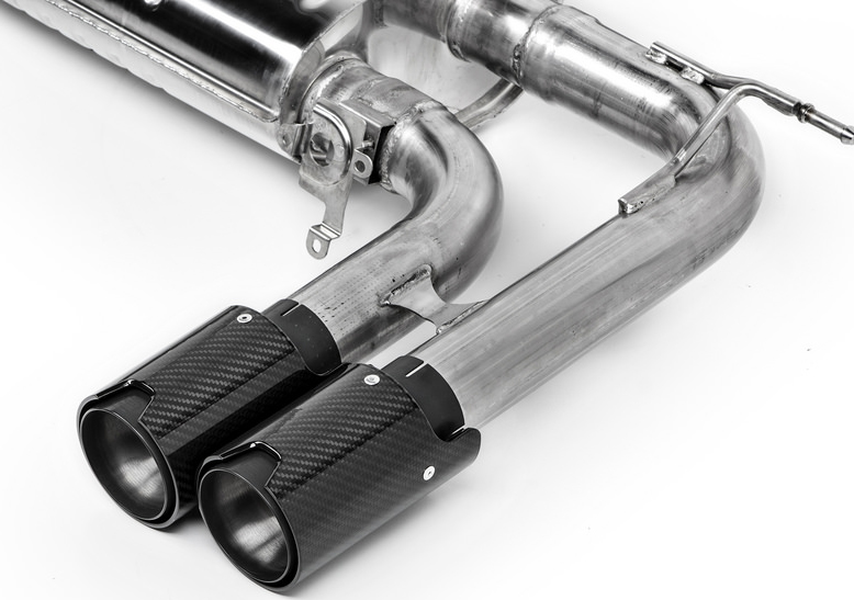 Eisenmann Sport Exhaust w/ 90mm Carbon Fiber Tips (2)