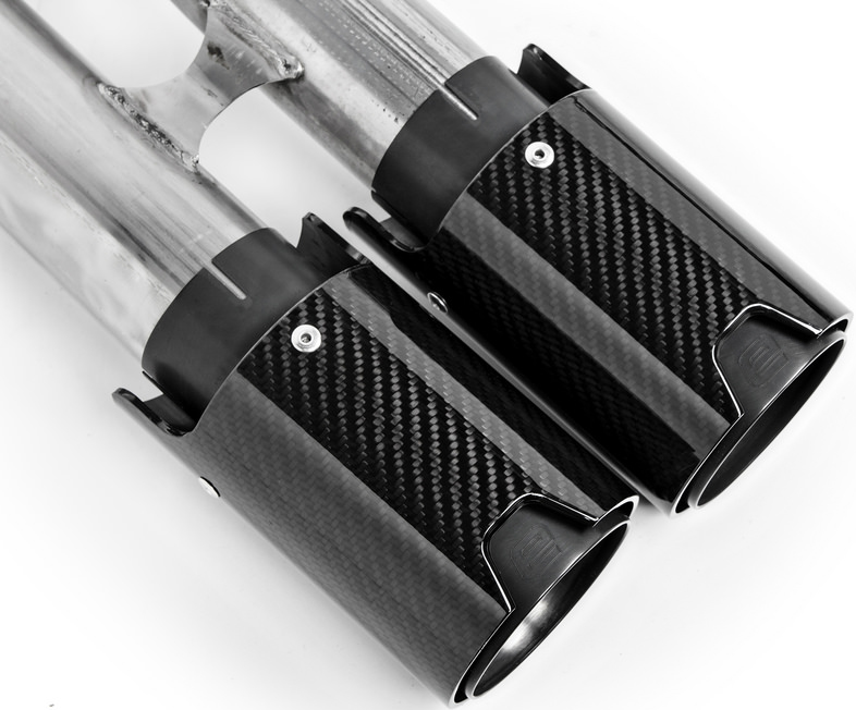 Eisenmann Sport Exhaust w/ 90mm Carbon Fiber Tips (3)