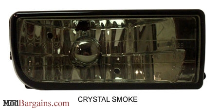 BMW E36 Clear Crystal Smoke Foglights @ ModBargains.com