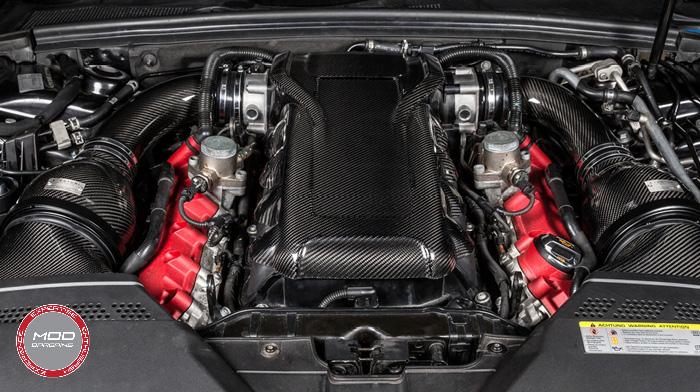 Carbon Fiber Engine Cover