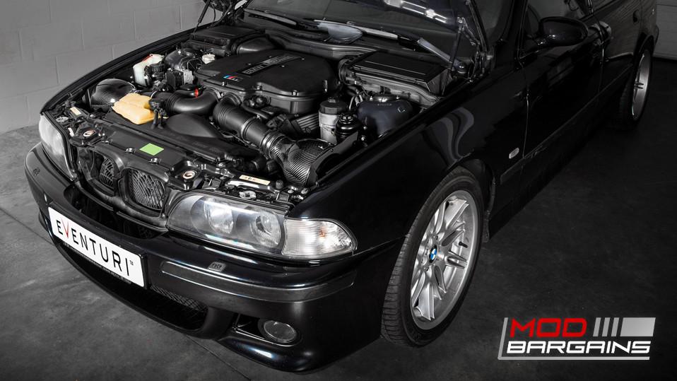 Eventuri Carbon Fiber Inverse Filter Intakes BMW E39 M5