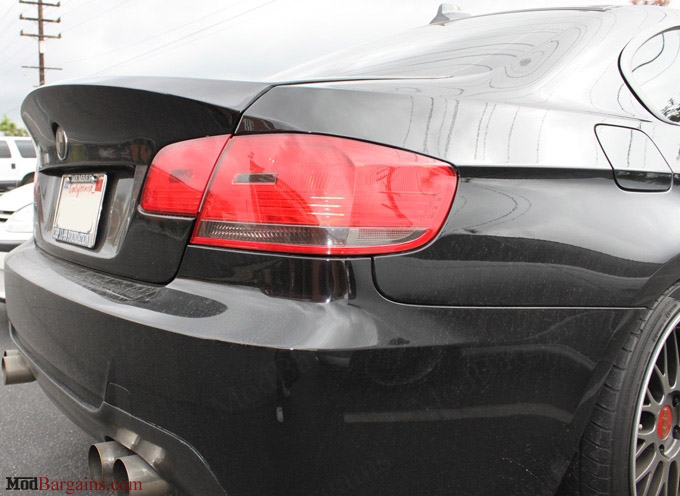 CSL-Style Trunk/Bootlid in 1x1 carbon Fiber Weave