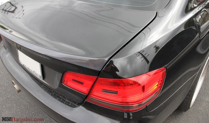 CSL-Style Trunk/Bootlid in 1x1 carbon Fiber Weave (2)