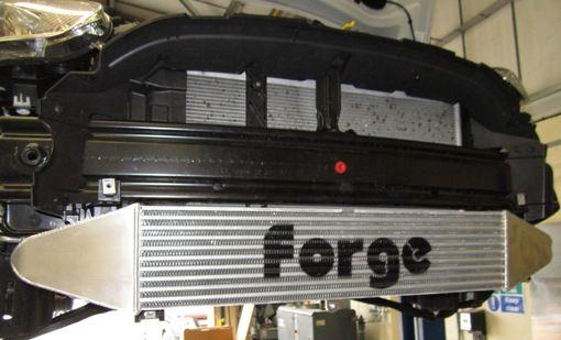 Forge Motorsport Fiesta ST Front Mount Intercooler Installed