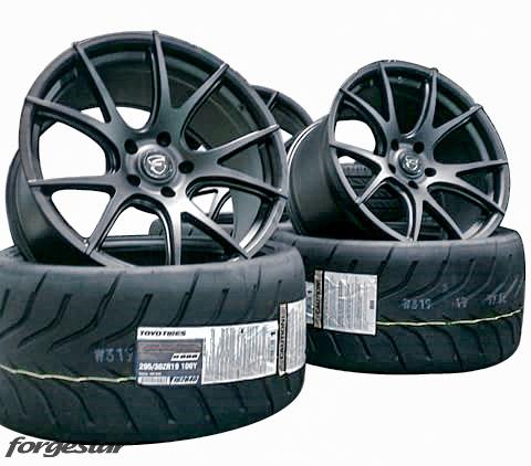 Forgestar CF5V w/ Toyo Tires