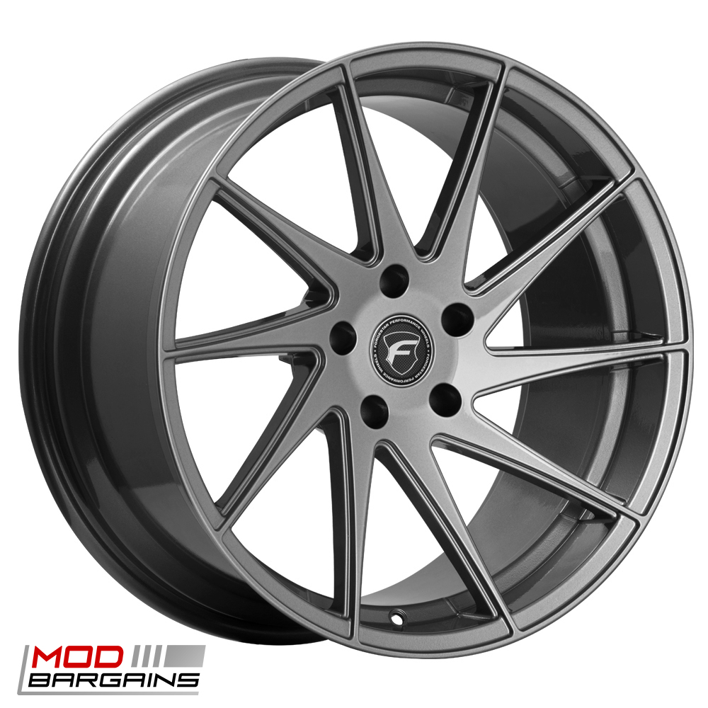 Forgestar F10D Deep Concave Wheel for Chevrolet 19in Silver