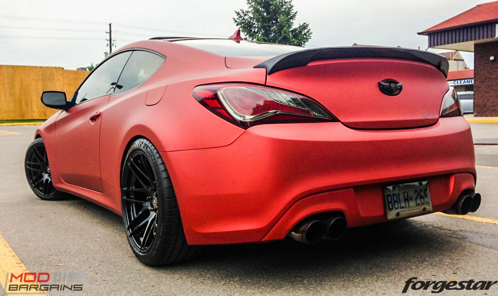 Forgestar F14 Wheels for Hyundai Genesis Coupe 18in  19in  20in