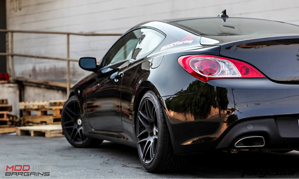 Exceptional Forgestar F14 Matte Black On Hyundai Genesis Coupe
