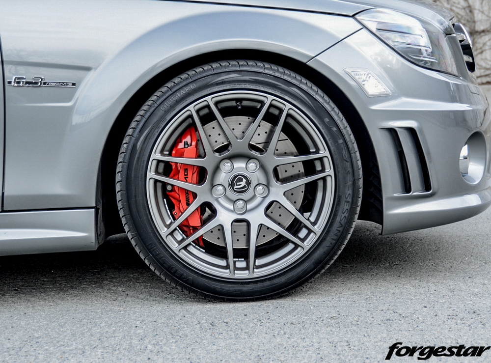 Forgestar f14 wheels for mercedes benz 18in 5x112mm 18x8 5 for Mercedes benz 6 wheel