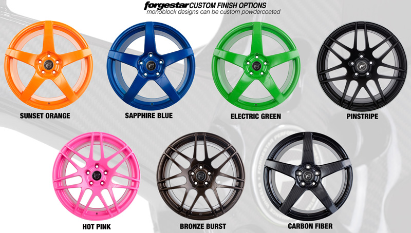 Forgestar CF5V Color Options