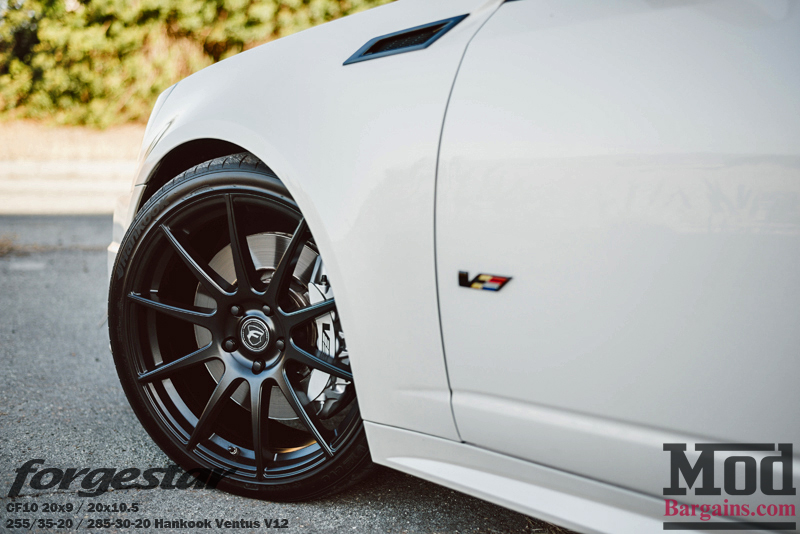 Forgestar CF10 Wheels on Cadillac CTS-V