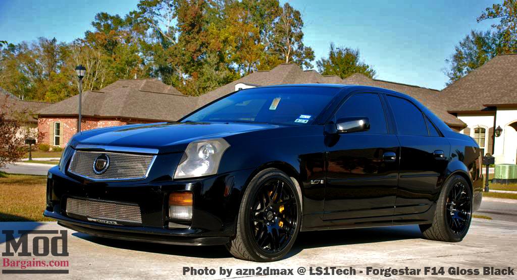 Forgestar F14 Wheels on Cadillac CTS-V