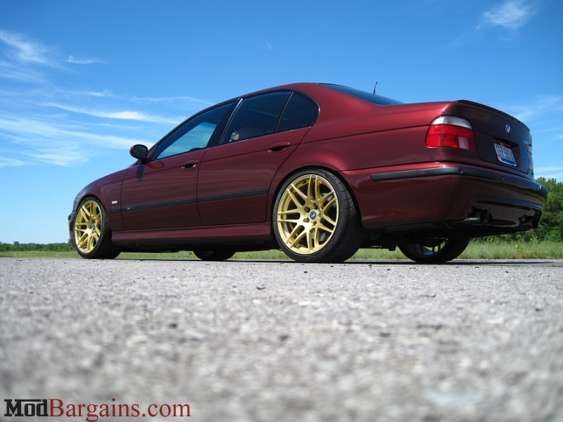 Forgestar F14 In Gold On Bmw E39