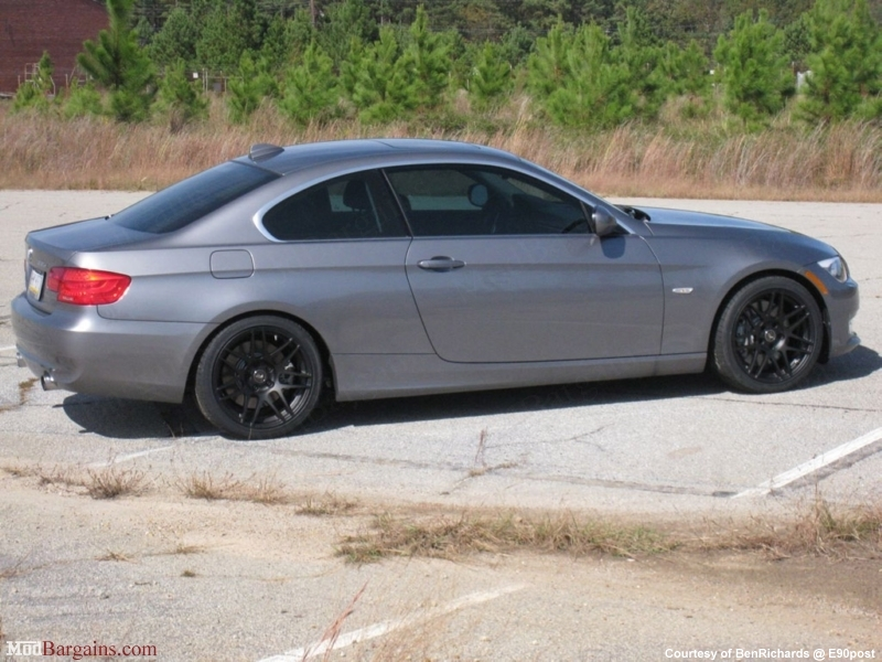 Matte Black Forgestar F14 On E92