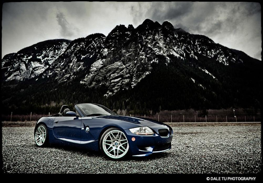 Titanium Forgestar F14s on BMW Z