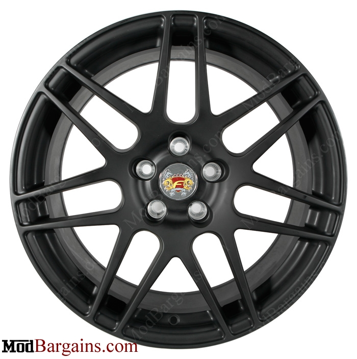 Forgestar F14 Matte Black for Cadillac CTS-V
