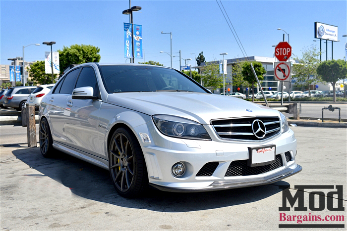 Forgestar CF10 Wheels on Mercedes Benz W204 AMG at ModBargains.com Installed 3