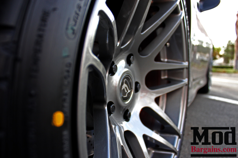 Forgestar F14 in Silver on Porsche 996 Turbo 18x8.5 18x11 at ModBargains 1