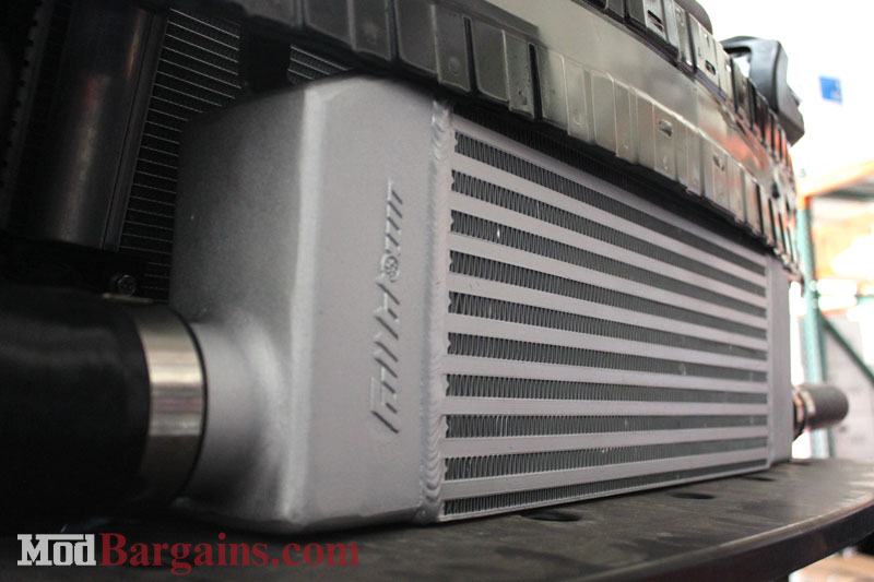 Full Blown Motorsports Stage 1 Base Turbo Kit intercooler at ModBargains.com