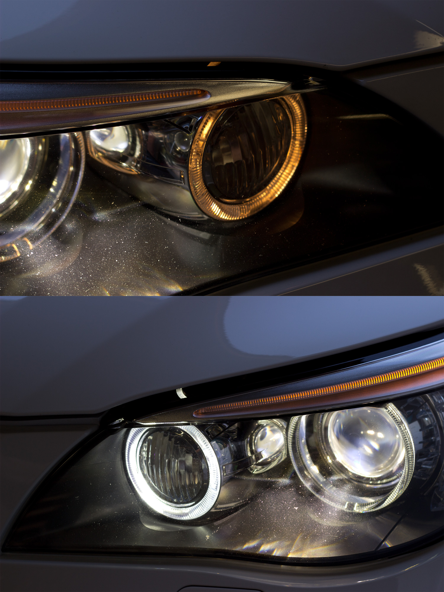 Gp Thunder H8 Cree 80w Bmw Led Angel Eyes
