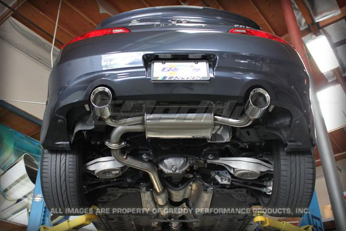 GReddy SP Elite Exhaust for 2008-13 Infiniti G37 Coupe