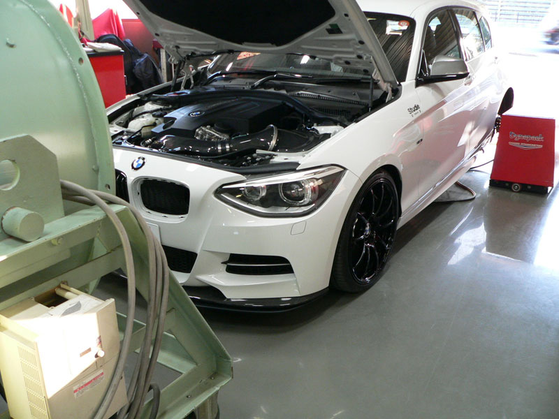 Gruppe M Carbon Fiber Intake System BMW Dyno