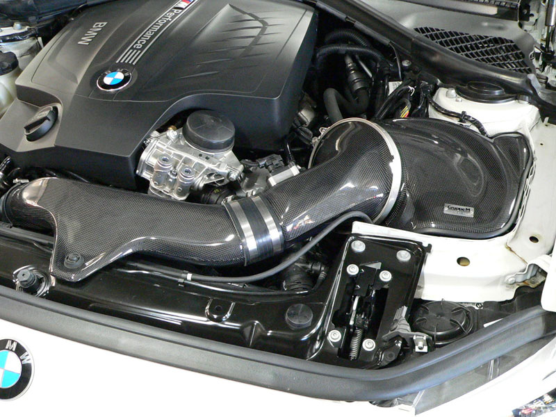 Gruppem Carbon Fiber Ramair Intake For 2012 N55 Bmw 1m